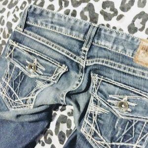 BKE Starlight bootcut jeans Size 23 X 31.5